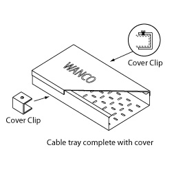 WANCO Cable Tray with Covers
