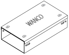 WANCO Steel Surface Cable Trunking